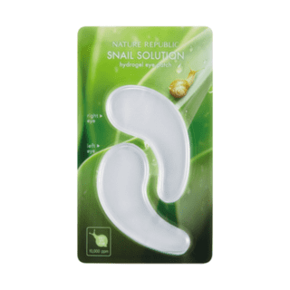 Snail Solution Hydrogel Eye Patch-Simple-Nature Republic-Chicsta
