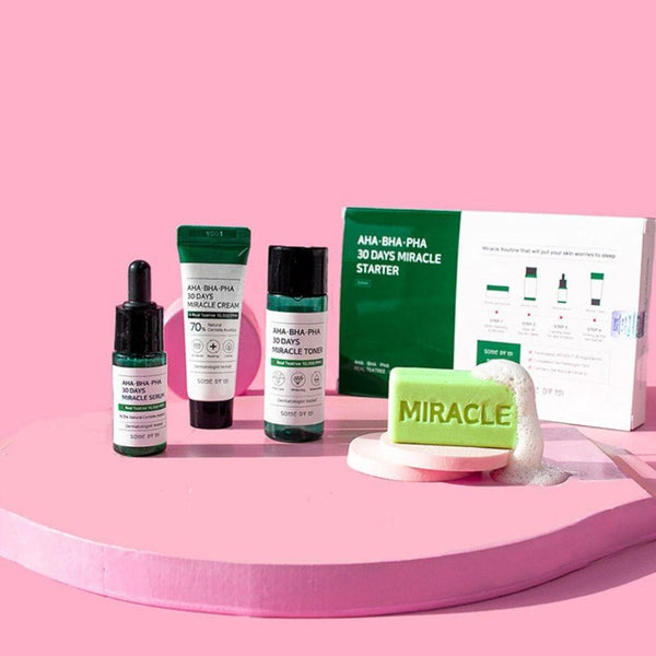30 Days Miracle Starter Kit (Soap +Toner +Serum +Cream)-Simple-Some By Mi-Chicsta