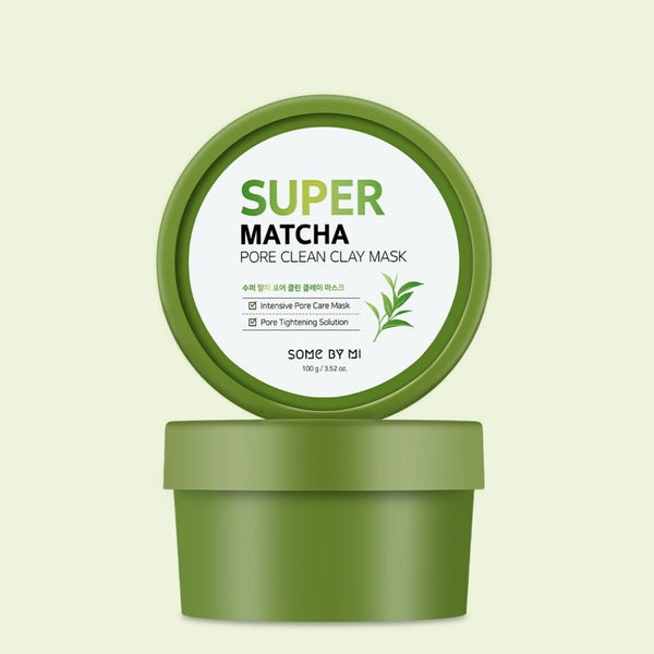 Super Matcha Pore Clean Clay Mask-Simple-Some By Mi-Chicsta