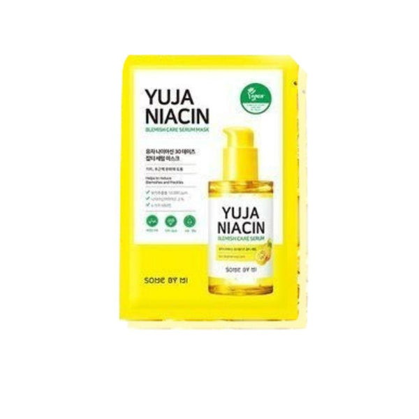 Yuja Niacin Blemish Care Serum Mask-Simple-Some By Mi-Chicsta