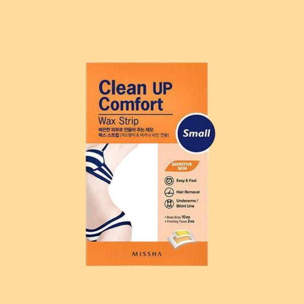 Clean Up Comfort Wax Strip Small-Missha-Chicsta
