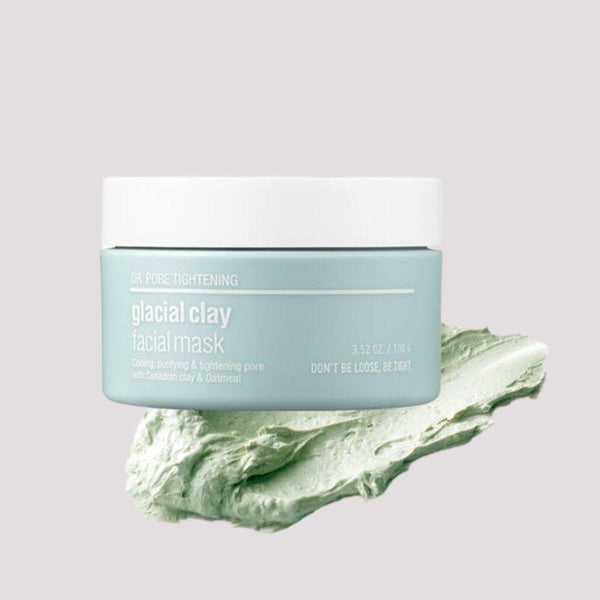 Dr. Pore Tightening: Glacial Clay Facial Mask-Simple-SKIN & LAB-Chicsta