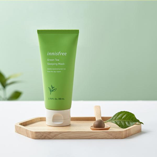 Green Tea Sleeping Mask-Simple-INNISFREE-Chicsta