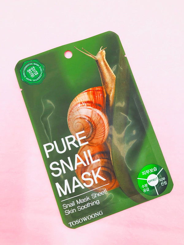 Pure Snail Mask-Simple-Tosowoong-Chicsta