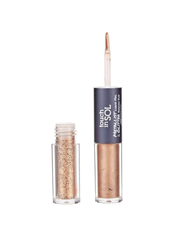 Metallist Liquid Foil & Glitter Shadow Duo - Eldora
