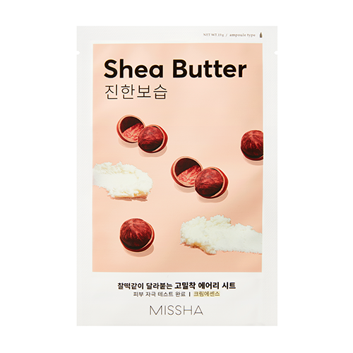 Airy Fit Sheet Mask (Shea Butter)-Simple-Missha-Chicsta