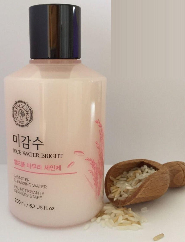 Rice Water Bright Last Step Cleansing Water-The Face Shop-Chicsta