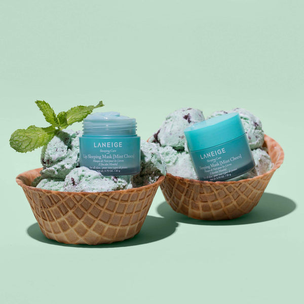 Lip Sleeping Mask- Mint Choco #Big