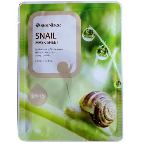 Snail Mask Sheet-Simple-Seantree-Chicsta