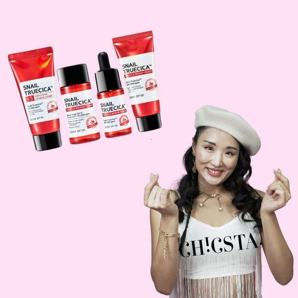 Snail Truecica Miracle Repair Starter Kit-Some By Mi-Chicsta