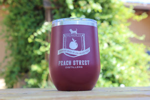 Glass - Tumbler 12oz w/ PSD barrel logo