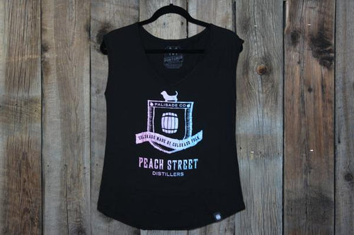 Tank Top -  Multi colored PSD Barrel logo