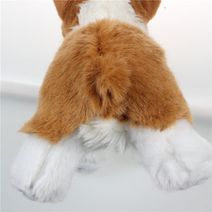 super-kawaii-brown-white-corgi-replica-plush-toy-butt