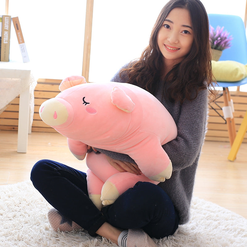 Cute-Sleeping-Pig-Plush