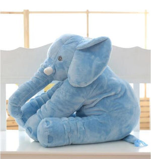 kawaii-cute-blue-elephant-plush-children-Asian-woman