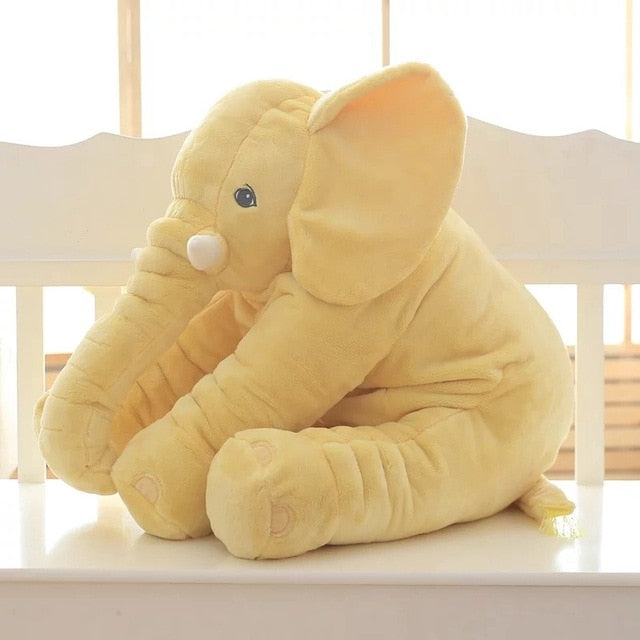 kawaii-cute-yellow-elephant-plush-children-Asian-woman