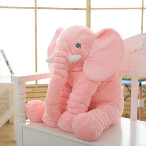 kawaii-cute-pink-elephant-plush-children-Asian-woman