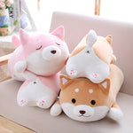 kawaii-cute-fat-shiba-inu-dog-pink-brown-white-sleeping-awake
