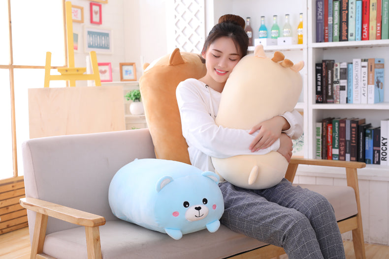 Blue-Bear-Plush-Pillow