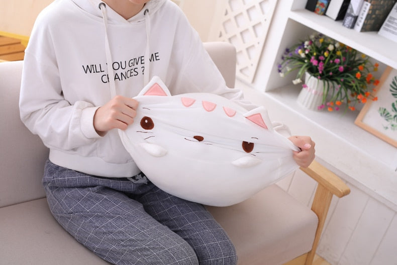 Cute-White-Kitten-Plush-Pillow