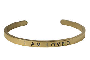 I AM LOVED-4MM ENGRAVED