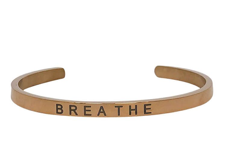 BREATHE-4MM ENGRAVED
