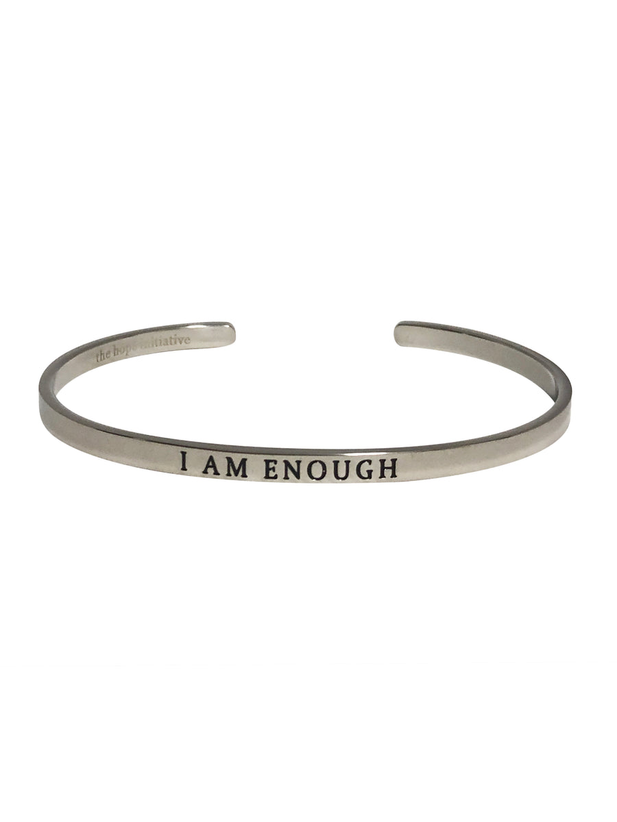 I AM ENOUGH-4MM DEEP STAMP