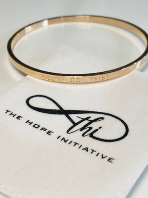 YOU'VE GOT THIS-full bangle