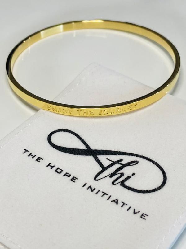 ENJOY THE JOURNEY- full bangle