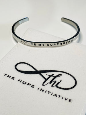YOU'RE MY SUPERHERO-3MM DEEP STAMP