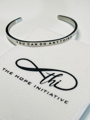 YOU CAN DO ANYTHING-3MM DEEP STAMP