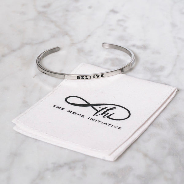 BELIEVE-3MM DEEP STAMP