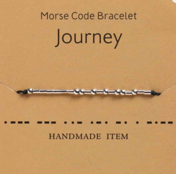 JOURNEY MORSE CODE ROPE
