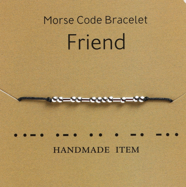 FRIEND MORSE CODE ROPE