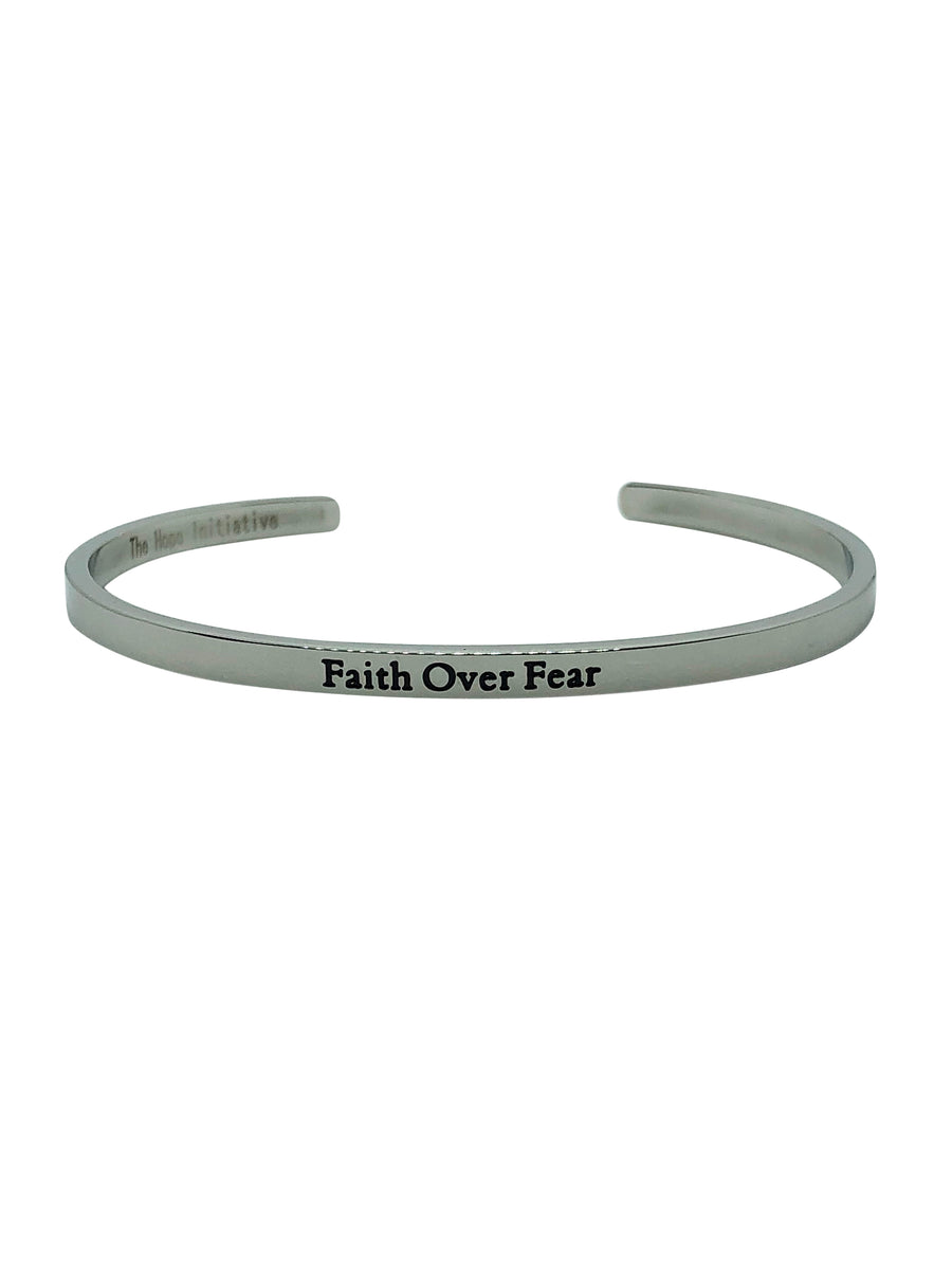 FAITH OVER FEAR-3MM DEEP STAMP