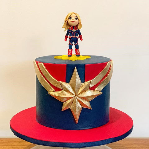 Brilliant 7 Superhero Birthday Cake Ideas That Were Made To Wow Personalised Birthday Cards Cominlily Jamesorg