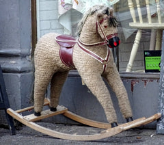 Vintage-Unicorn-Rocking-Horse