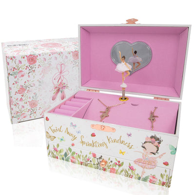 Ballerina Music Box and Jewelry Set