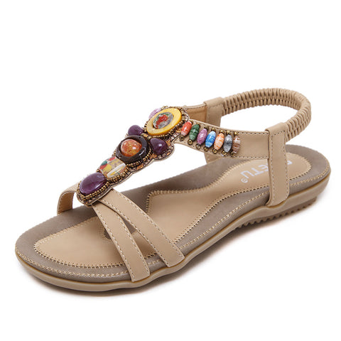 Women's Shoes Sandals New Ethnic Bohemian Casual Style