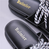 Women's New Sandals Summer Flat Platform Shoes Outdoor Slippers