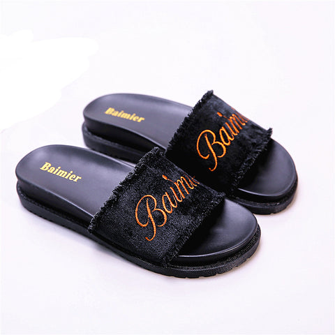 Women's New Muffin Platform Casual Slippers Sandals