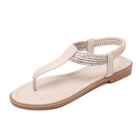Women's Sandals Comfort Leather Flats Shoes