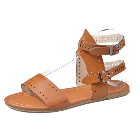 Women's Shoes Sandals 2019 Summer Beach Open Toe Flat Casual Style