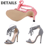 Women's Shoes Comfort High Heels Stiletto Heels Sandals Ankle Strap Scottish Style