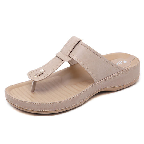 Women Sandals Comfortable Thick Bottom Casual Slippers