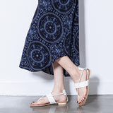 Women's New Flat Shoes Casual Soft Bottom Thong Sandals
