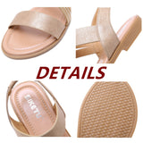 Women's Comfort Sandals Flat Heel Daily Office