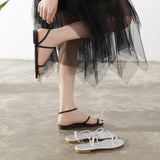 Women's Flat Heel Sandals Simple Comfort Strap