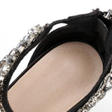Summer Stiletto Heel Satin Women Sandals