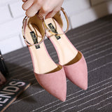 Women's Flats Shoes 2019 New Pointed Toe Daily Office